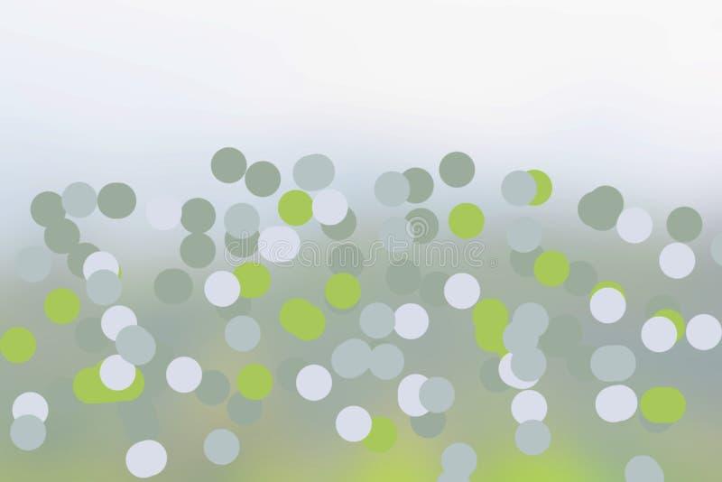 背景Bokeh 免版税库存图片