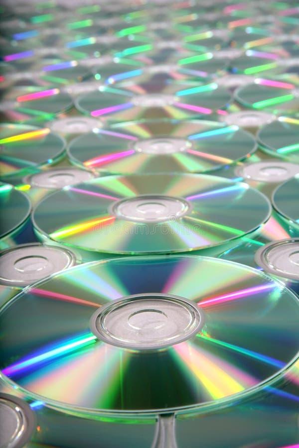背景cd 免版税库存照片