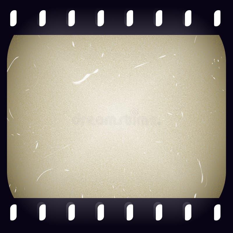 背景filmstrip 库存例证