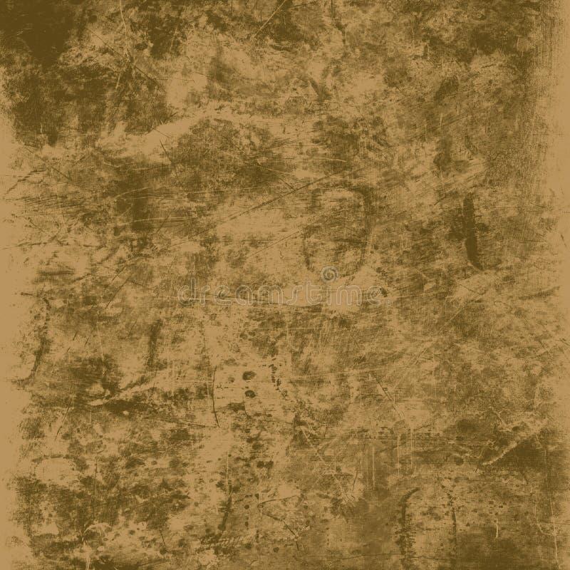 背景grunge纹理 皇族释放例证