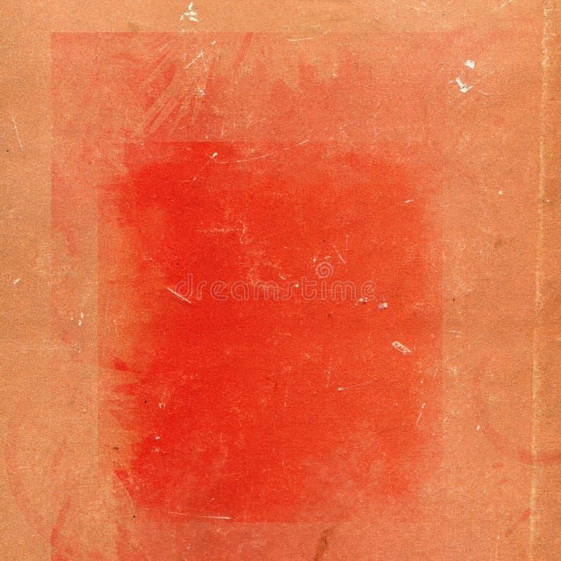 背景grunge老红色 免版税库存照片