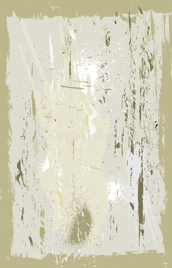 背景grunge老纸张 库存例证