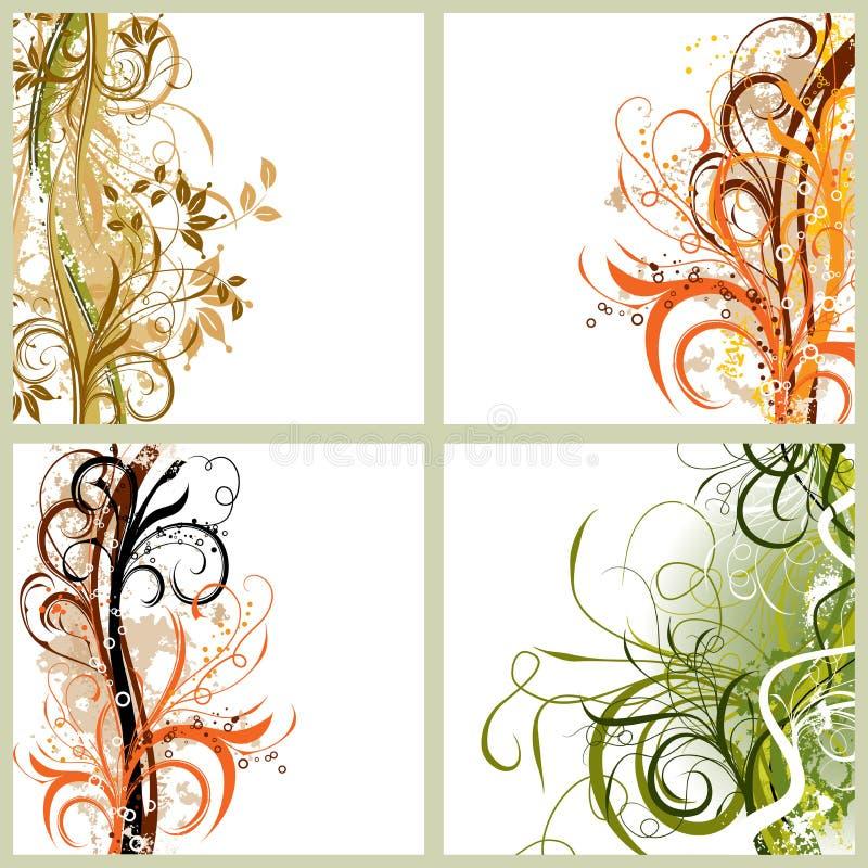 Download 背景grunge 库存例证. 插画 包括有 花卉, 设计, 艺术性, 减速火箭, 创造性, 冬天, 装饰品 - 3674659