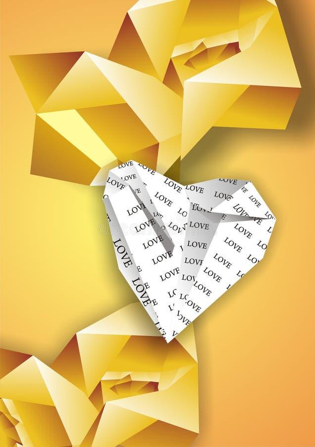 背景origami 免版税库存照片