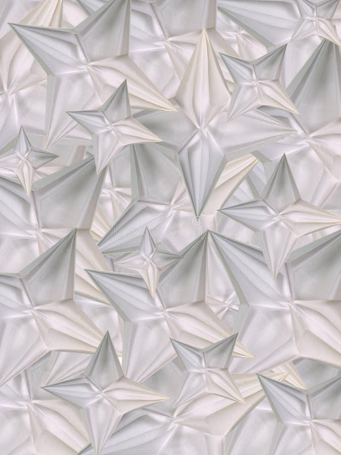 背景origami 库存例证