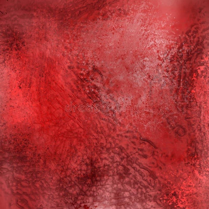 背景redgrunge 向量例证
