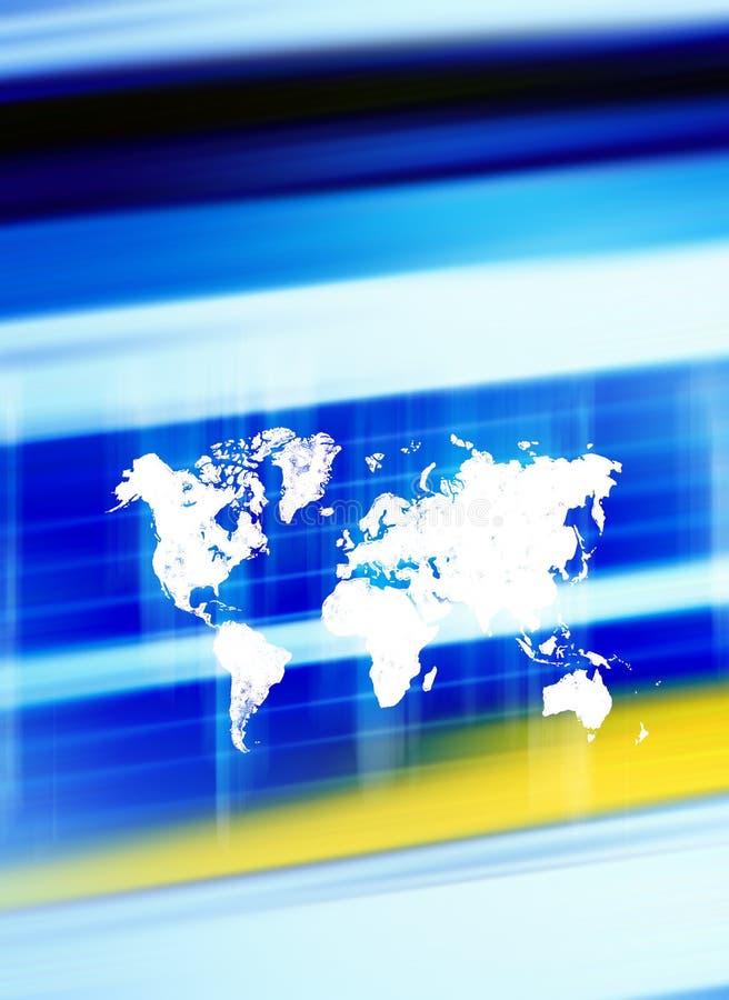 背景worldmap 皇族释放例证