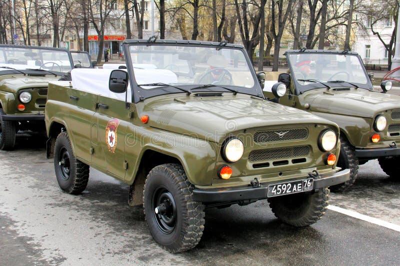 胜利天2014年在叶卡捷琳堡,俄罗斯 图库摄影