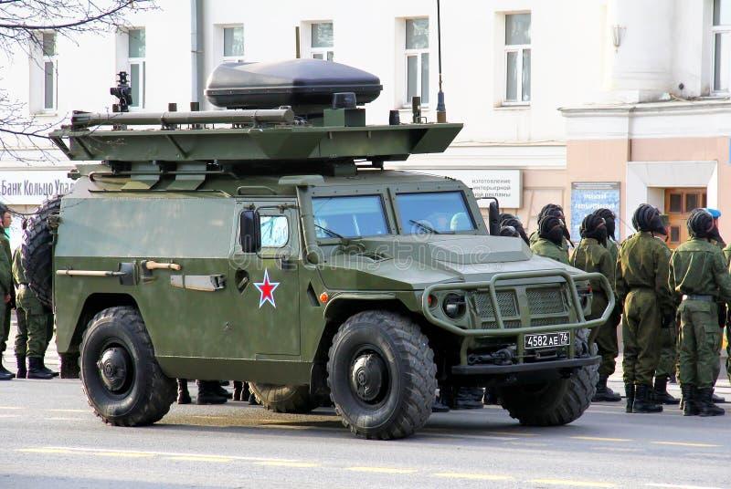 胜利天2014年在叶卡捷琳堡,俄罗斯 库存图片