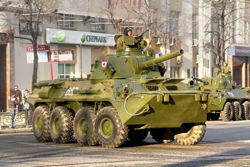胜利天2014年在叶卡捷琳堡,俄罗斯 免版税图库摄影