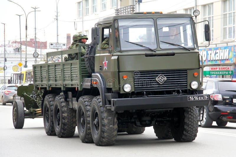 胜利天2014年在叶卡捷琳堡,俄罗斯 库存照片