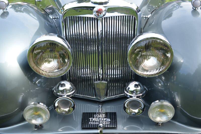 1947胜利跑车经典葡萄酒汽车 免版税库存照片