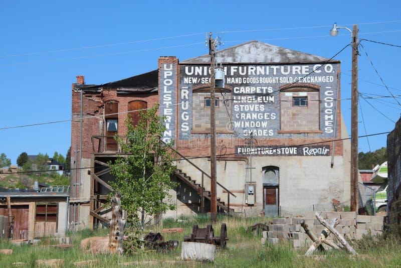 胜者,矿共同的城市-全国历史的区 免版税图库摄影
