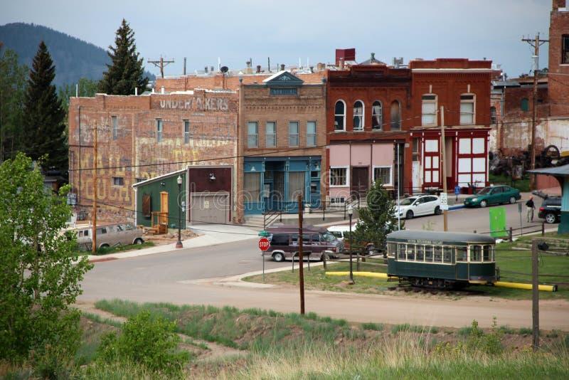 胜者,矿共同的城市-全国历史的区 图库摄影