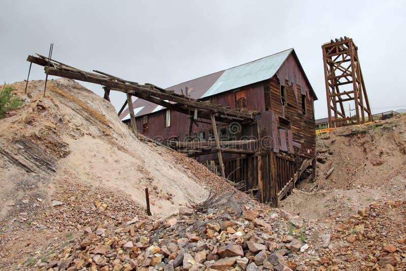 胜者,矿共同的城市-全国历史的区 免版税库存照片