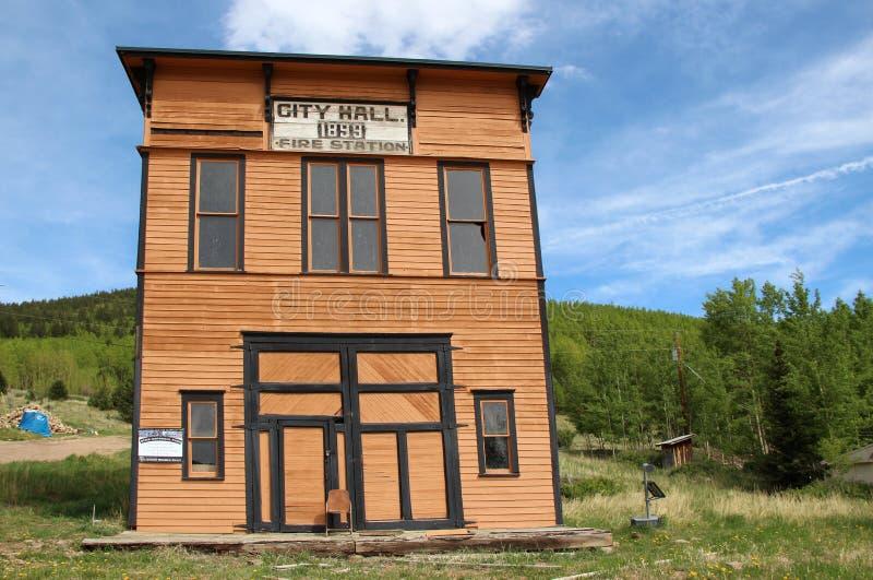 胜者,矿共同的城市-全国历史的区 免版税库存图片