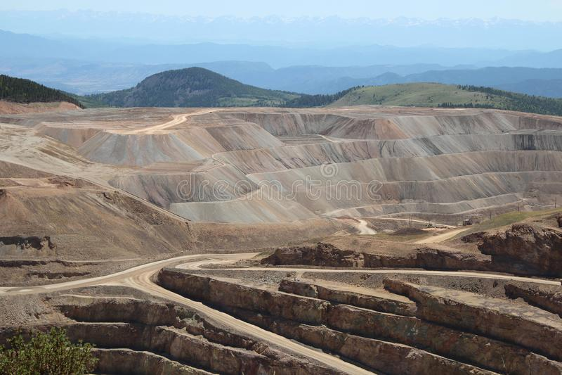 胜者,矿共同的城市-全国历史的区 库存图片