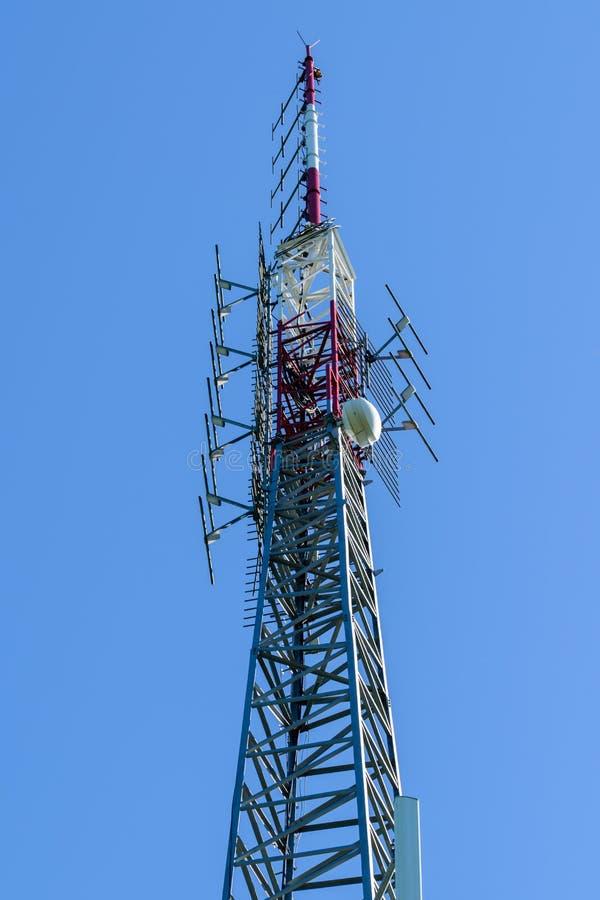 细胞塔-高发射机 免版税库存照片
