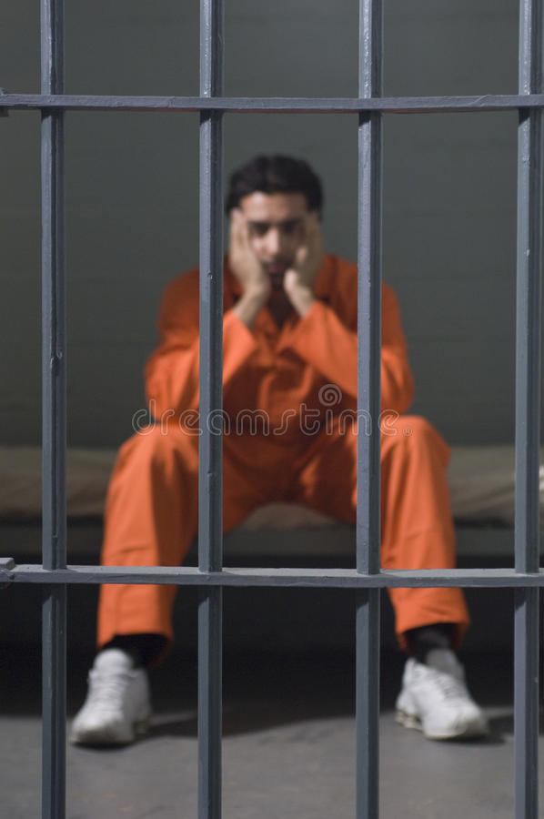 细胞的囚犯 免版税库存图片