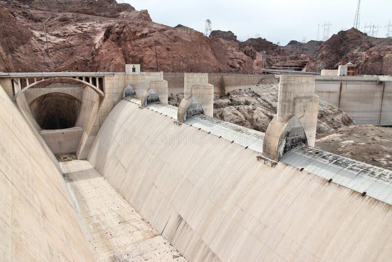 胡佛水坝,亚利桑那 免版税库存照片