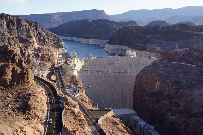 胡佛水坝8 库存图片