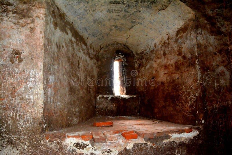 胡内多阿拉城堡,称Corvin城堡在Transilvania 库存图片