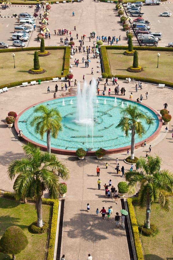 胡同喷泉 图库摄影