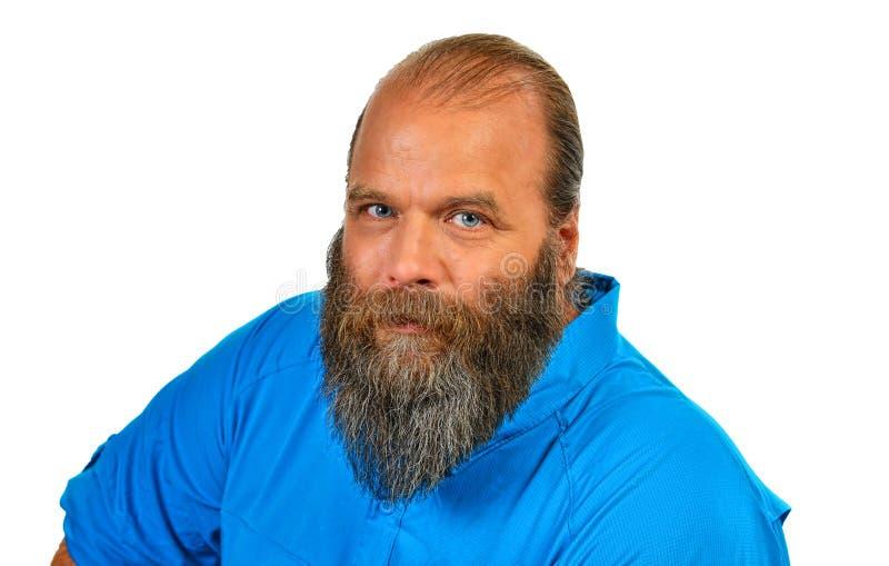 胡子的连续修剪 免版税库存照片