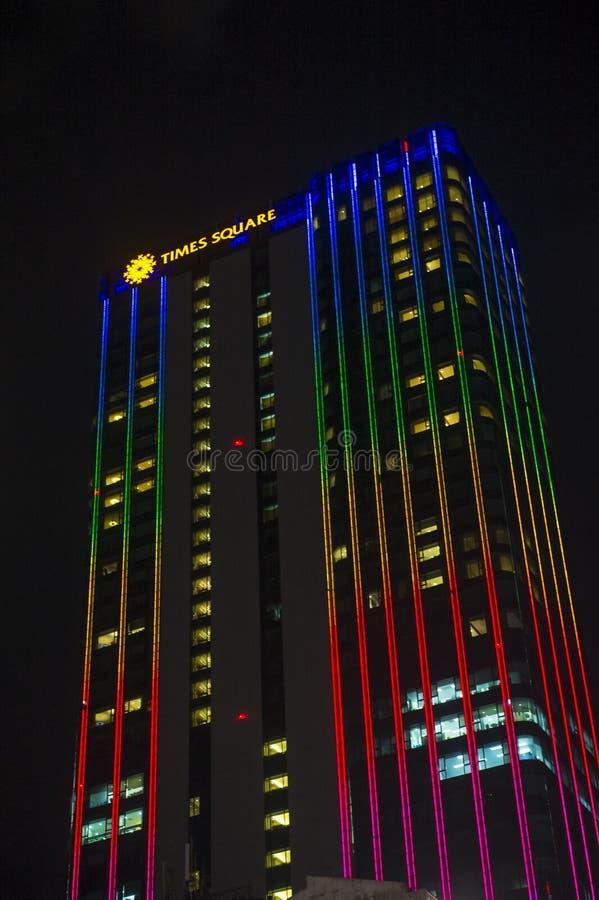 胡志明市西贡时代广场 免版税库存图片