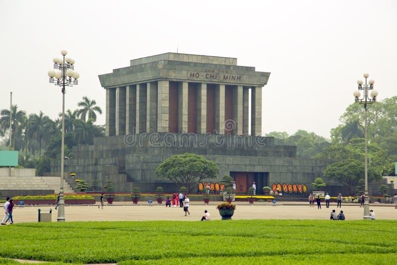 胡志明陵墓,河内,越南, 库存照片