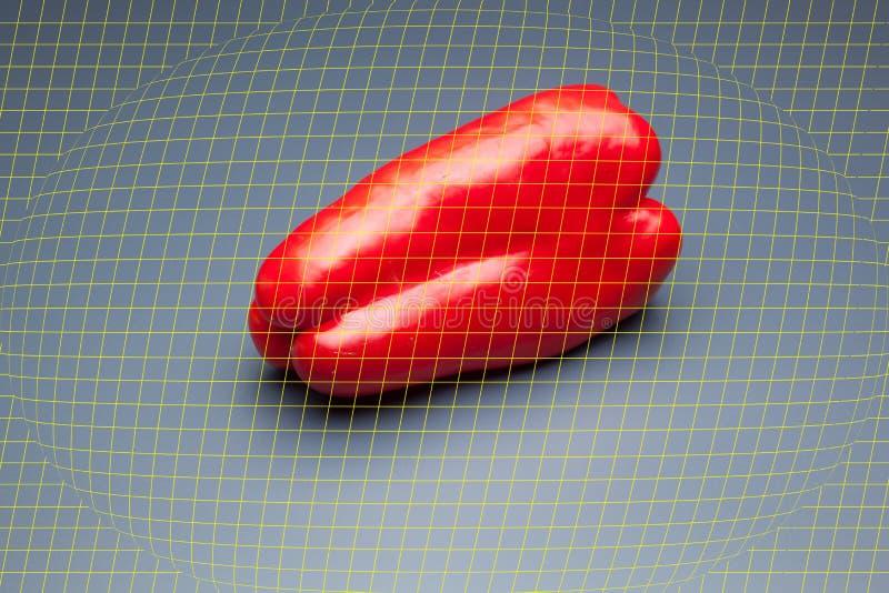 胡椒有很多维生素 库存图片