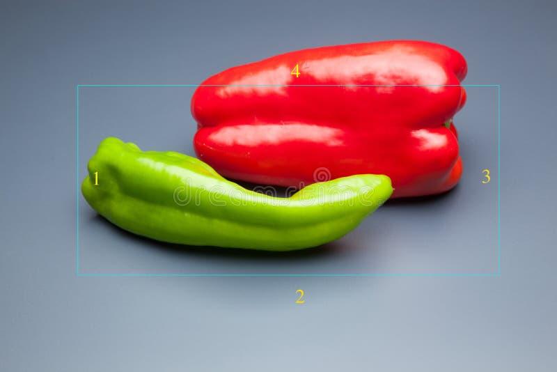 胡椒有很多维生素 免版税库存图片