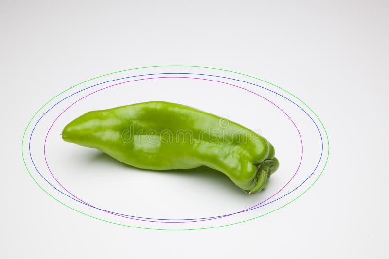 胡椒有很多维生素 免版税库存照片
