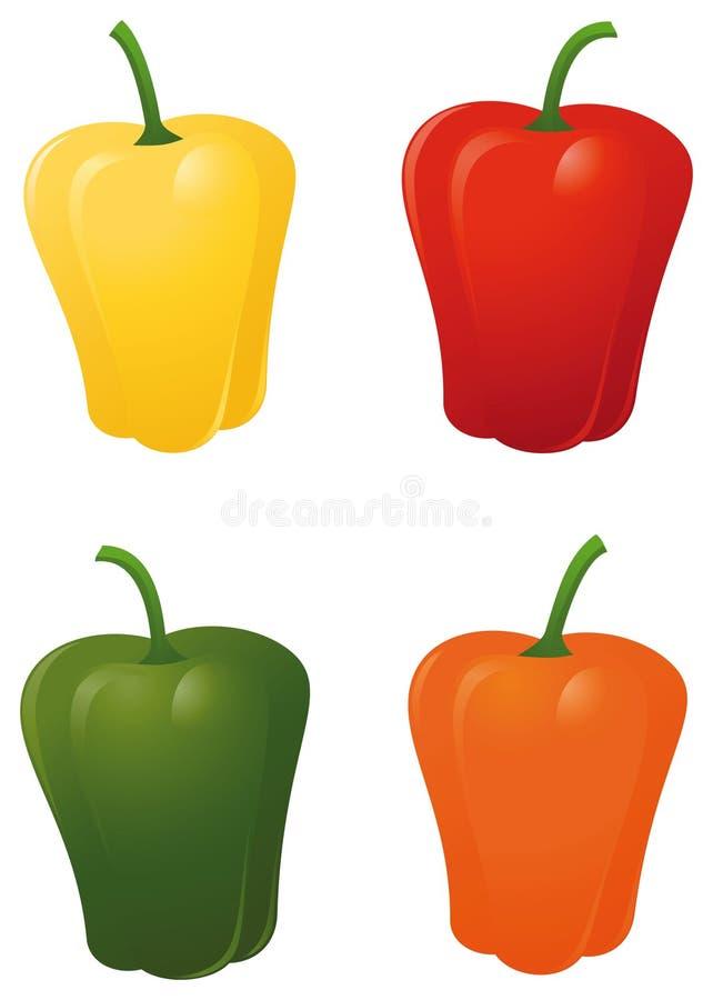 胡椒 向量例证