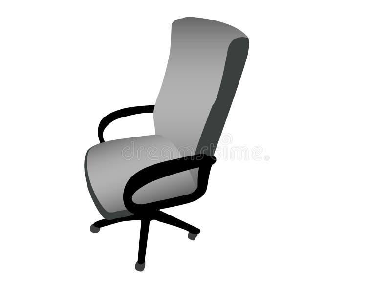 胳膊椅子转动 向量例证