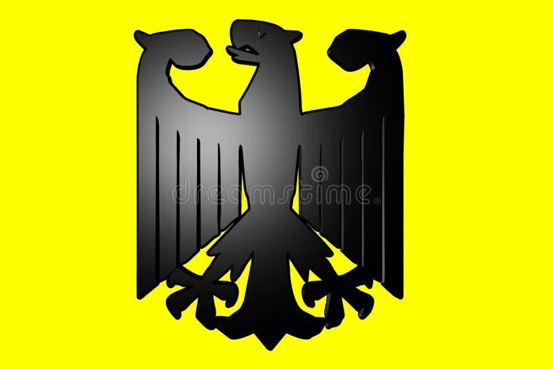 胳膊涂上德语 免版税库存照片