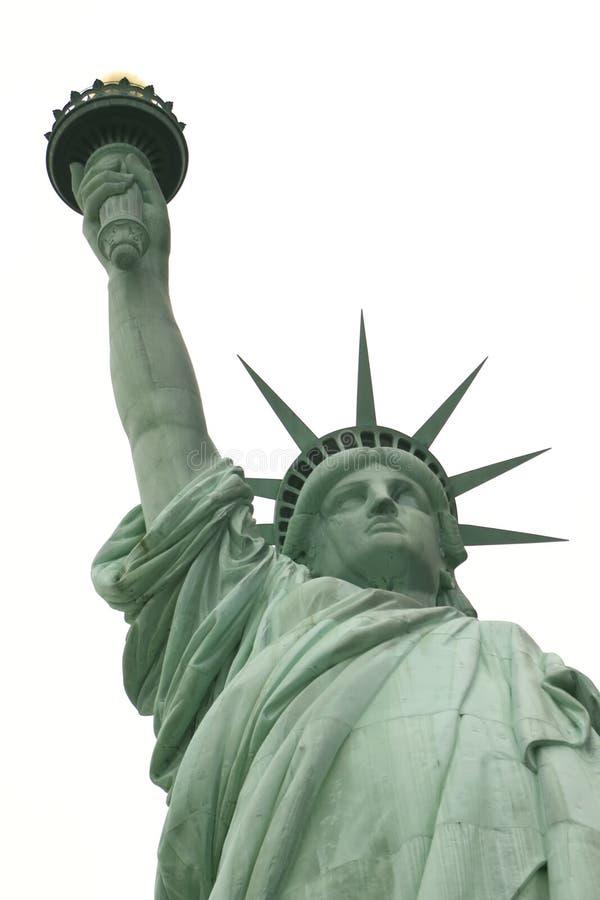 胳膊自由长的雕象白色 免版税库存图片
