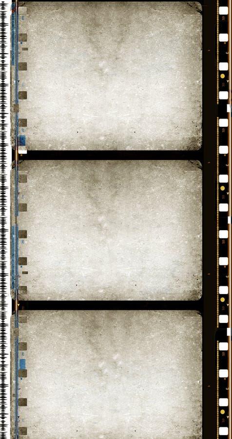 胶卷画面grunge 向量例证