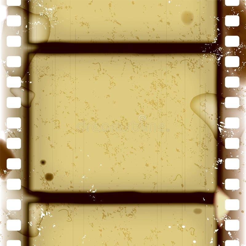 胶卷画面 向量例证