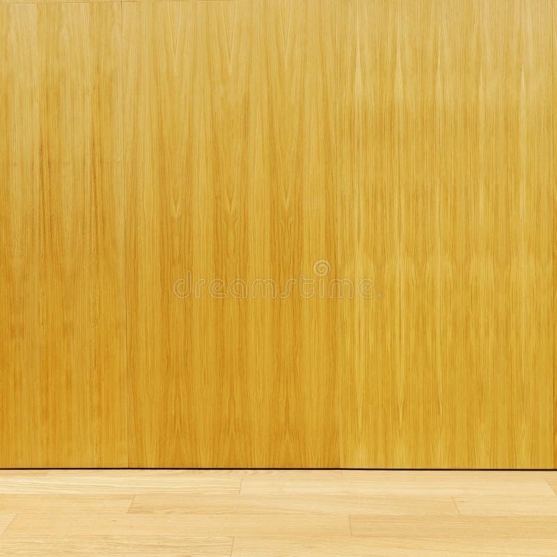 胶合板墙壁 免版税库存照片