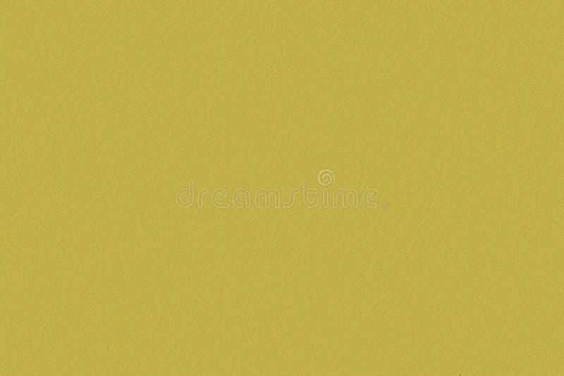 胶合板芥末,黄褐色颜色被绘的空的板料  免版税库存图片