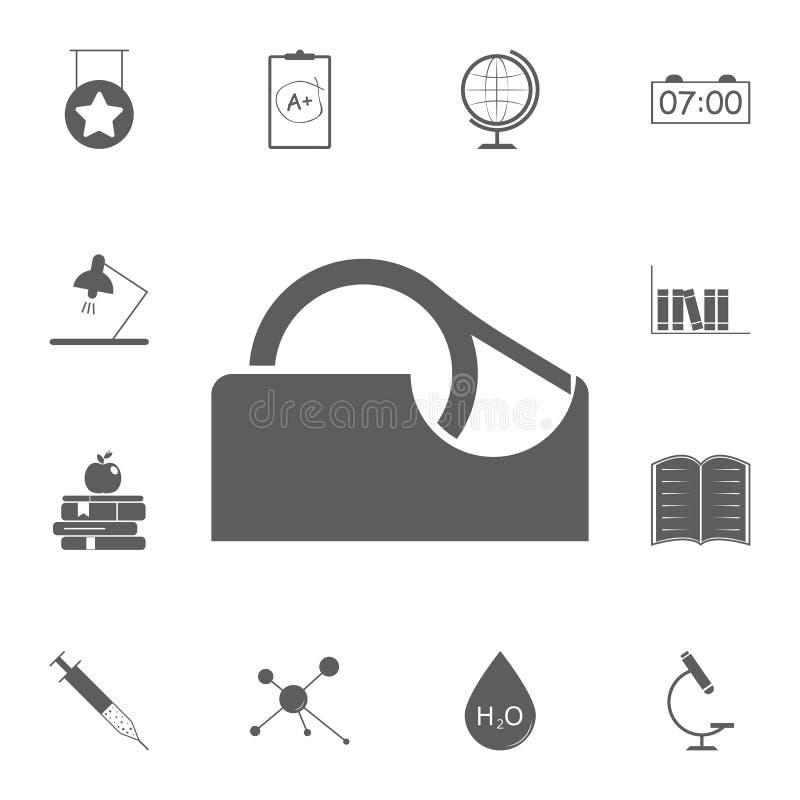 胶带象 详细的套教育象 优质质量图形设计标志 其中一个网站的汇集象,我们 向量例证