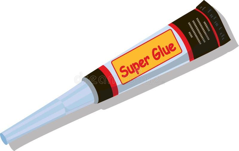 胶浆管 向量例证