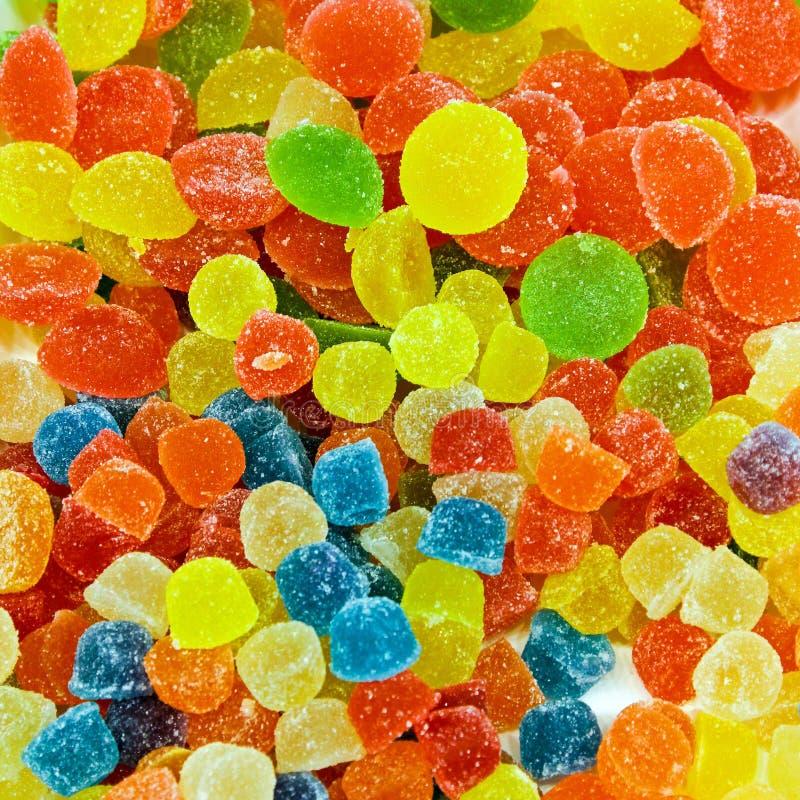 胶粘的糖果 免版税库存照片