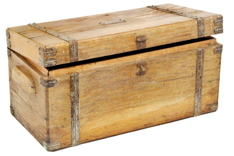 胸口工具箱葡萄酒 库存图片