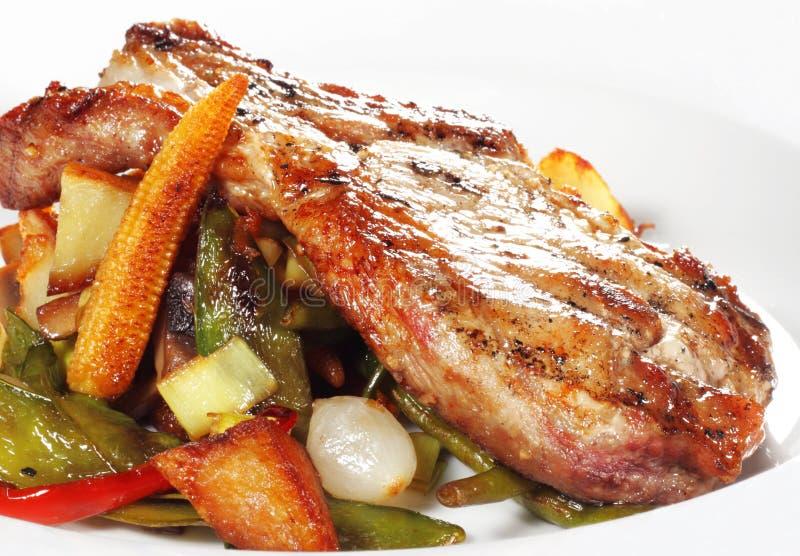 胸肉猪肉 免版税图库摄影