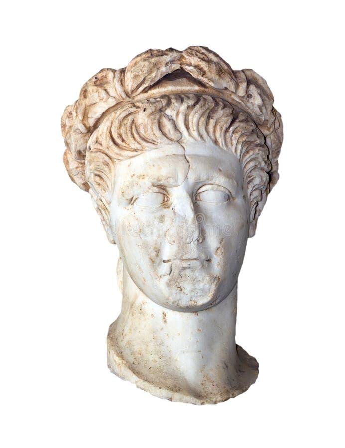胸象罗马皇帝Trajan (王朝98-117公元) 库存图片