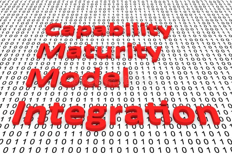 能力成熟度模型集成 向量例证