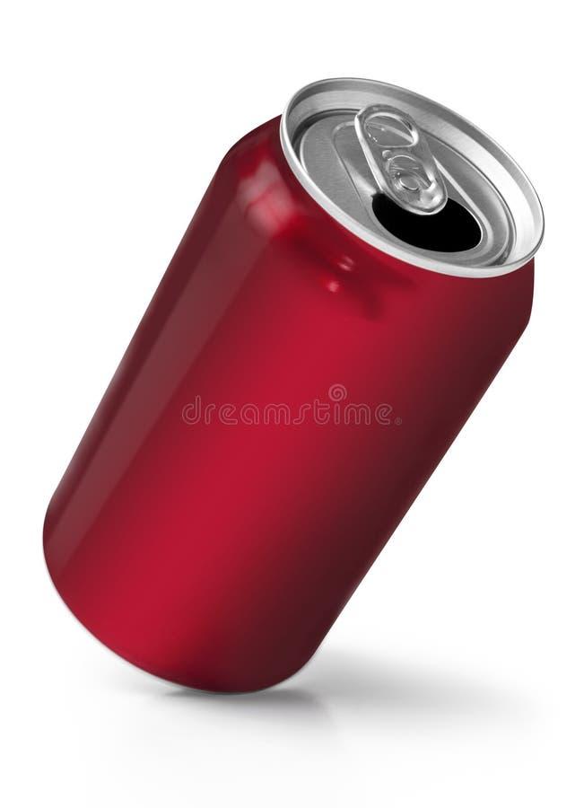 能喝红色软件 免版税图库摄影
