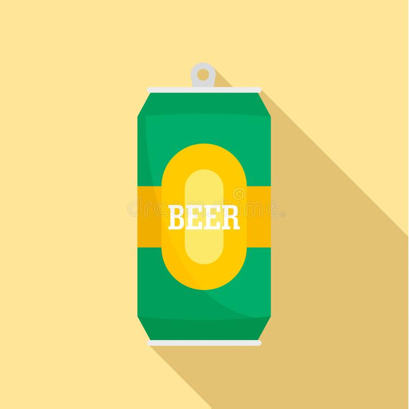 能新啤酒象,平的样式 库存例证